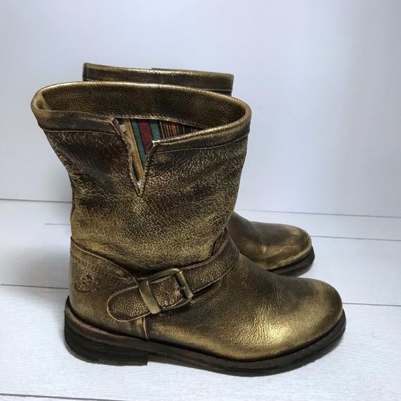 newest 8c75e 12244 Felmini Leather Biker Boot